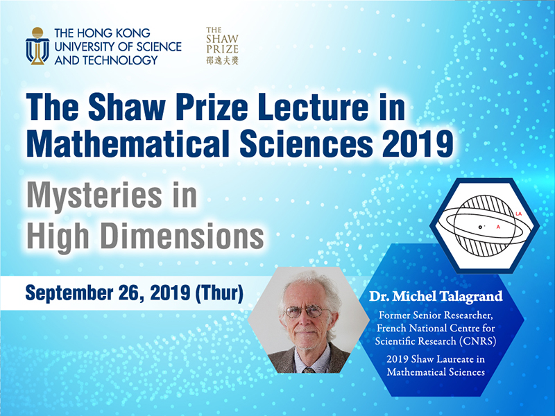 Shaw Prize Lecture 2018